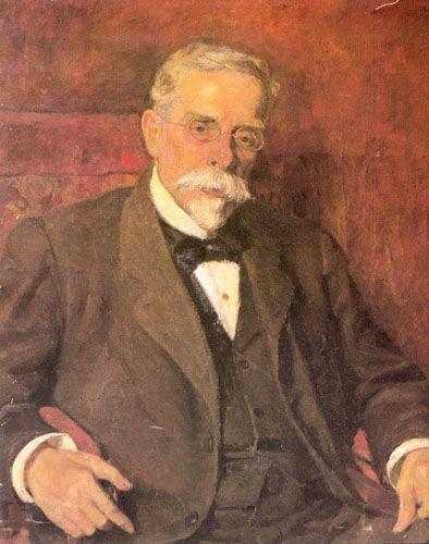 RETRATO DEL GENERAL DON JORGE WOOD, 1904 Óleo sobre Tela 88 x 73 cm Mueso Nacional de Bellas Artes