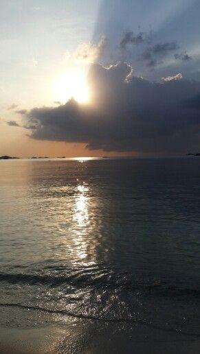 Sunset at Belitung