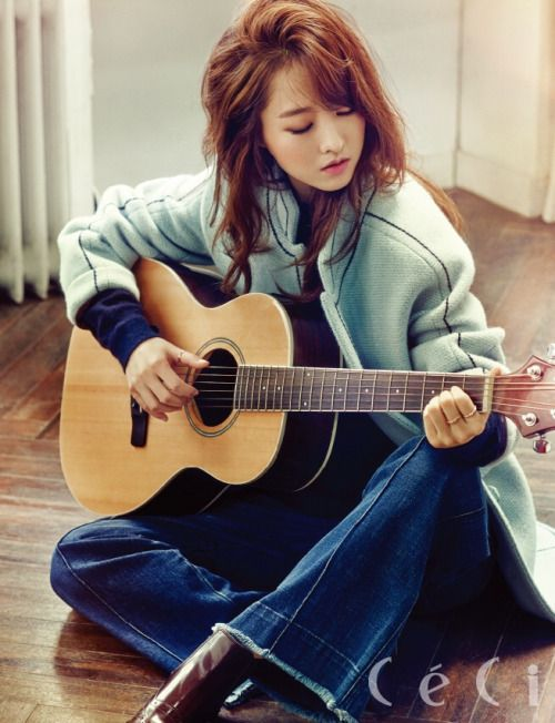 Park Bo Young for Ceci Korea October 2015. Photographed by Park Jung Min