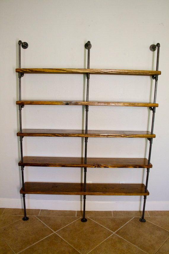industrial pipe shelving industrial bookshelves pipe shelving unit by 28460