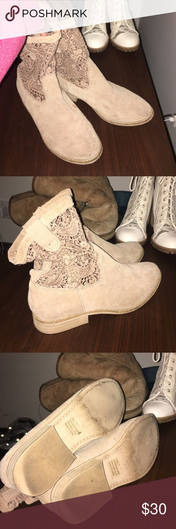 Nordstrom Boots Barely worn, maybe once. True to size and very comfy LF Shoes
