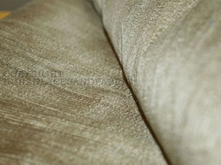 Silk – Iridescent Gold and Grey 100% dupioni silk fabric. – a unique product by indianlacesandfabric on DaWanda