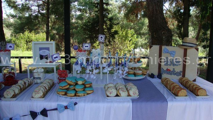 ΣΤΟΛΙΣΜΟΣ ΓΑΜΟΥ - ΒΑΠΤΙΣΗΣ :: Στολισμός Βάπτισης Θεσσαλονίκη και γύρω Νομούς :: ΣΤΟΛΙΣΜΟΣ ΒΑΠΤΙΣΗΣ LITTLE MISTER - ΚΩΔ: LM1116