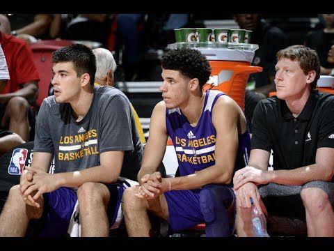 Lonzo Ball exits the 3rd quarter of NBA Summer League semifinal with calf injury