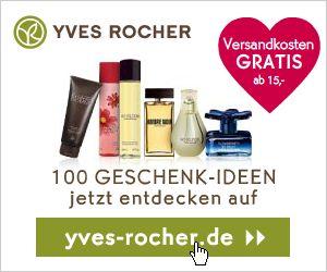 10€ Gutschein von Yves Rocher - www.qpino.de