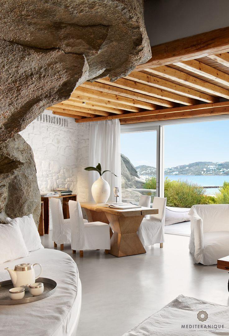 Suite at the Cavo Tagoo in Mykonos, Greece