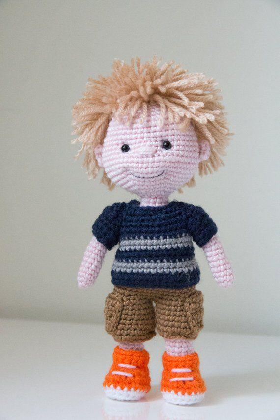 Amigurumi Doll Free Pattern – 2019 | Crochet dolls free patterns ... | 855x570