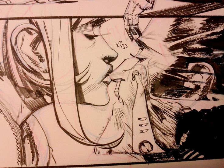WIP Tokyo Ghost: cyber punk romance. Also with swords. @Remender