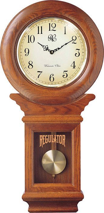 Features:  -Regulator.  -Requires two C batteries to operate.  -Novelty .  -Volume control, a night shut-off switch, and a silent mode.  Product Type: -Analog.  Shape: -Novelty.  Style: -Traditional.