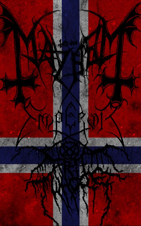 Have I told you about my love for Norwegian black metal?