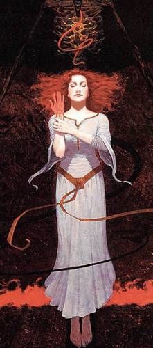 Dzydzilelya - Polish goddess of love, marriage, sexuality and fertility.He compares her with Venus. However, some scholars suppose that Dzydzilelya was a West Slavic analogue of Bulgarian Dodola, presumably the goddess of rain and fertility.
