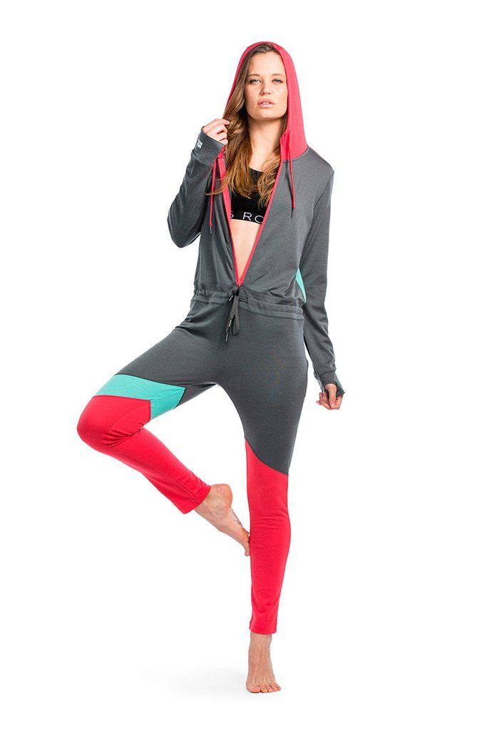 The Monsie One Piece - Pink / Mint / Charcoal   Mons Royale New Zealand