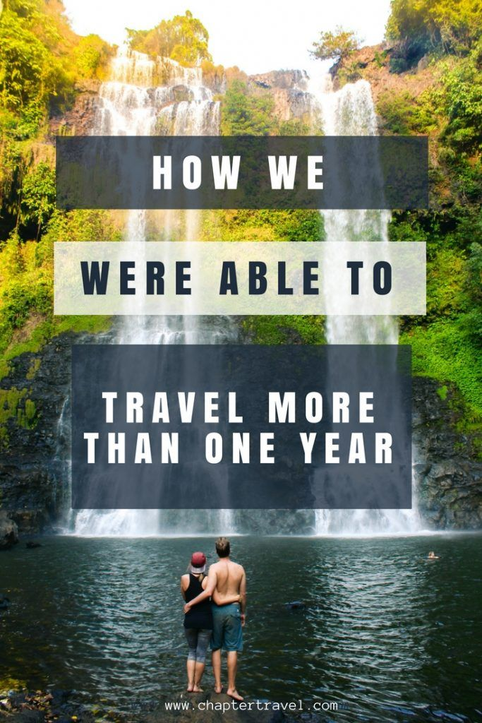 How we were able to travel more than one year