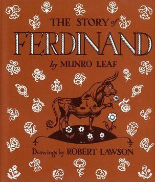 Who ever said all books had to be hard to read?    Fun Fact! The author of the story loved Ronda so much, it was made Ferdinand the setting of the story. You can see the signature stone bridges and cliffs in the cityscape as Ferdinand sits in the field. One more reason to go to Ronda!
