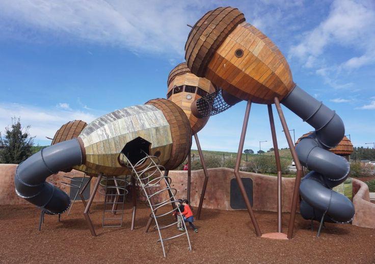 Pod Playground National Arboretum Canberra