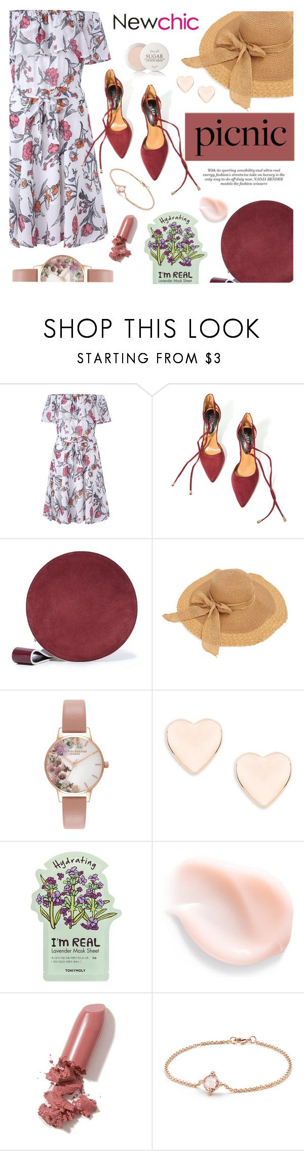 """Newchic Anniversary SALE ! #12"" by sandralalala ❤ liked on Polyvore featuring Diane Von Furstenberg, Olivia Burton, Ted Baker, TONYMOLY, LAQA & Co., David Yurman and Fresh"