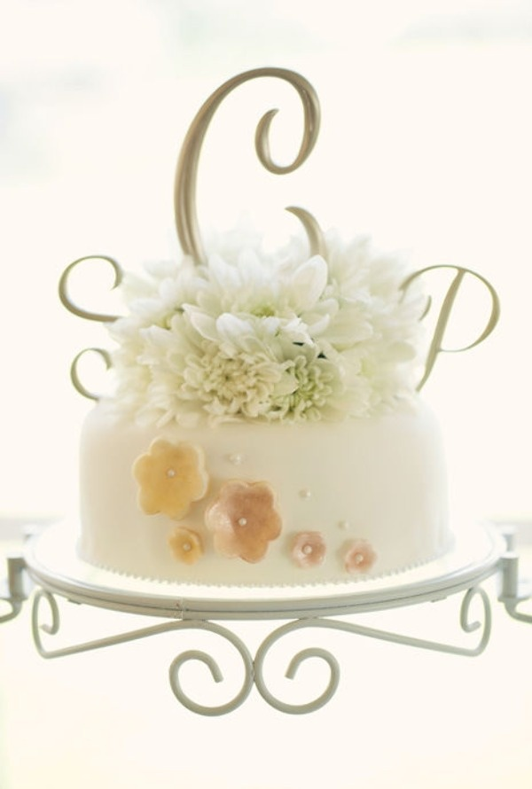 einstöckige Torte