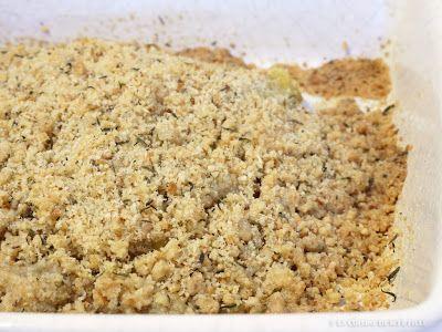 La Cuisine de Myrtille: Crumble de courgette au fromage ail et fines herbes