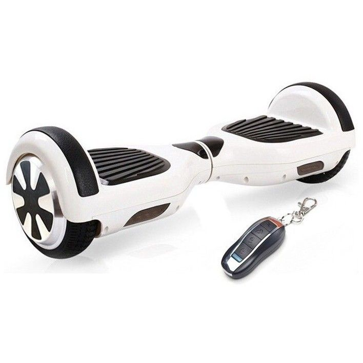 HoverBoard electric Tornado 6.5, Bluetooth, Alb