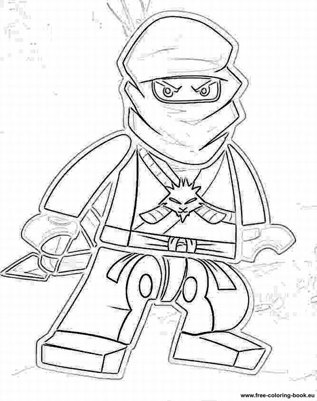 Coloring Book Ninjago : Coloring pages lego ninjago printable pages online
