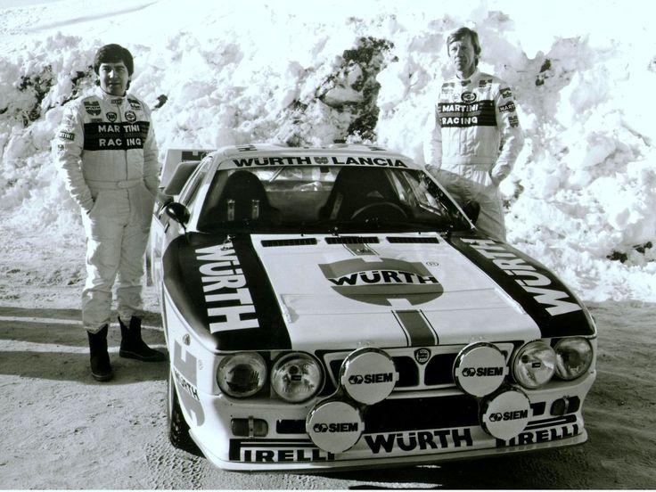 Lancia 037 rally car - Walter Röhrl