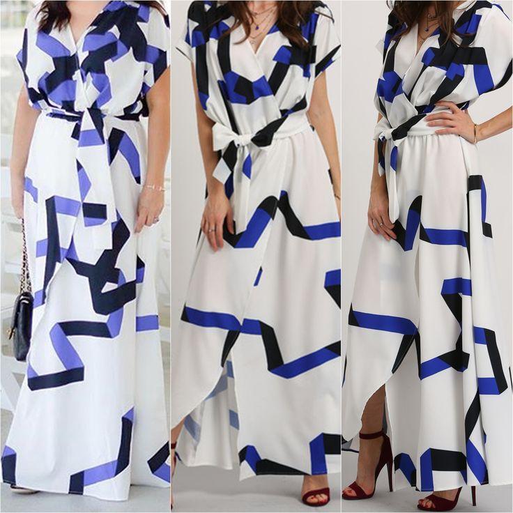 Beautiful Summer Picks - Self-tie Waist Maxi Dress