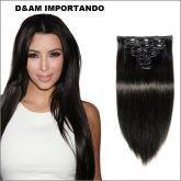 cabelo humano brasileiro virgem (tic tac)