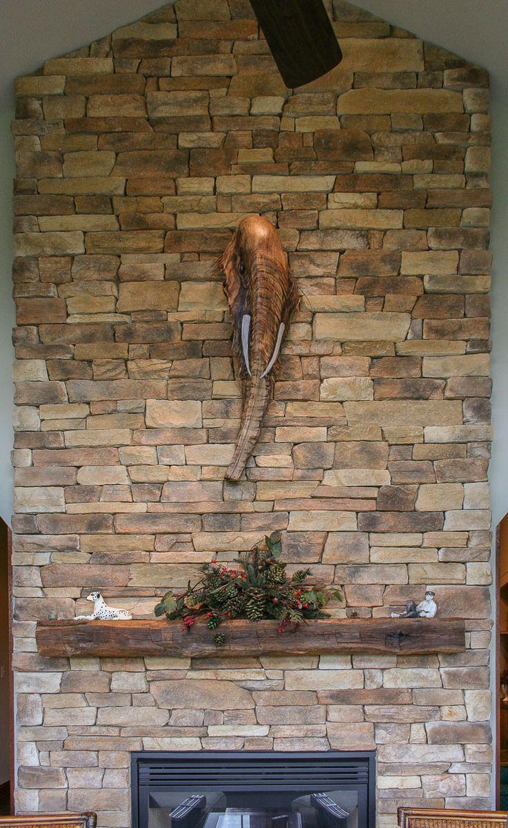 Veneer Stone Fireplace Ideas