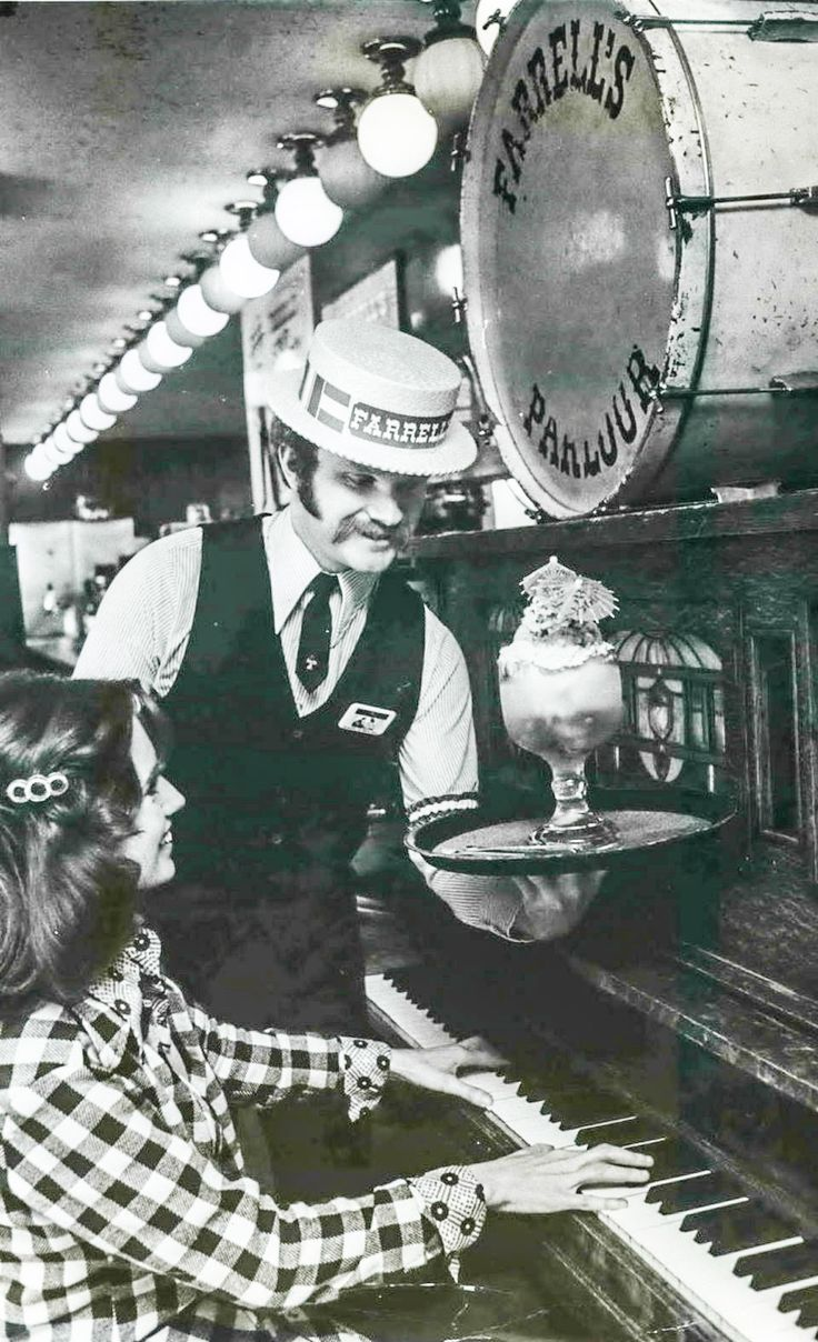 The History of Bob Farrell and His Ice Cream Parlour Restaurants.