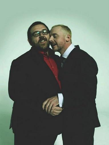 Simon Pegg & Nick Frost.