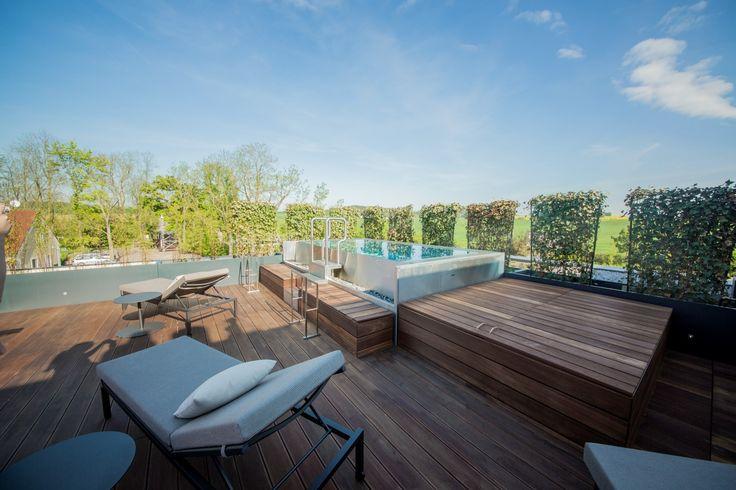 Rooftop stainless steel whirlpool Imaginox in Czech Republic