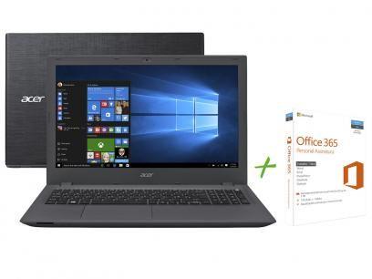 """Notebook Acer Aspire E5 Intel Core i7 6ª Geração - 8GB 1TB LCD 15,6"""" + Office 365 Personal com as melhores condições você encontra no Magazine Grove. Confira!"""