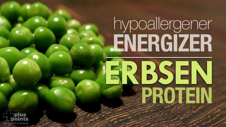 Erbsenprotein - hypoallergener Energizer