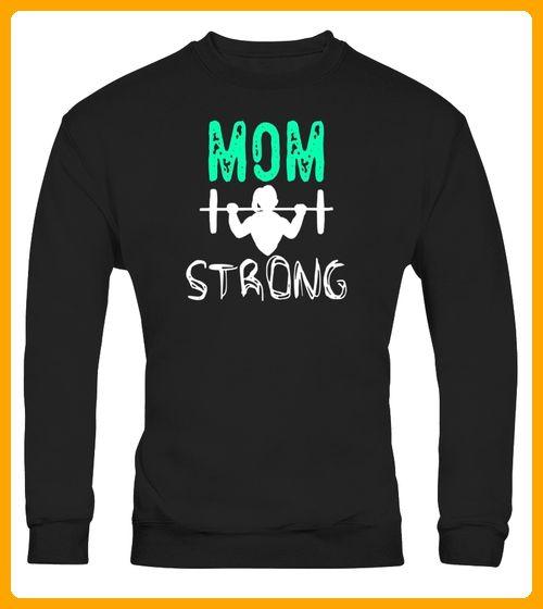 Mom Strong Tshirt Fashion Casual Actiwear Sport Top Tee - Gymnastik shirts  (*Partner-