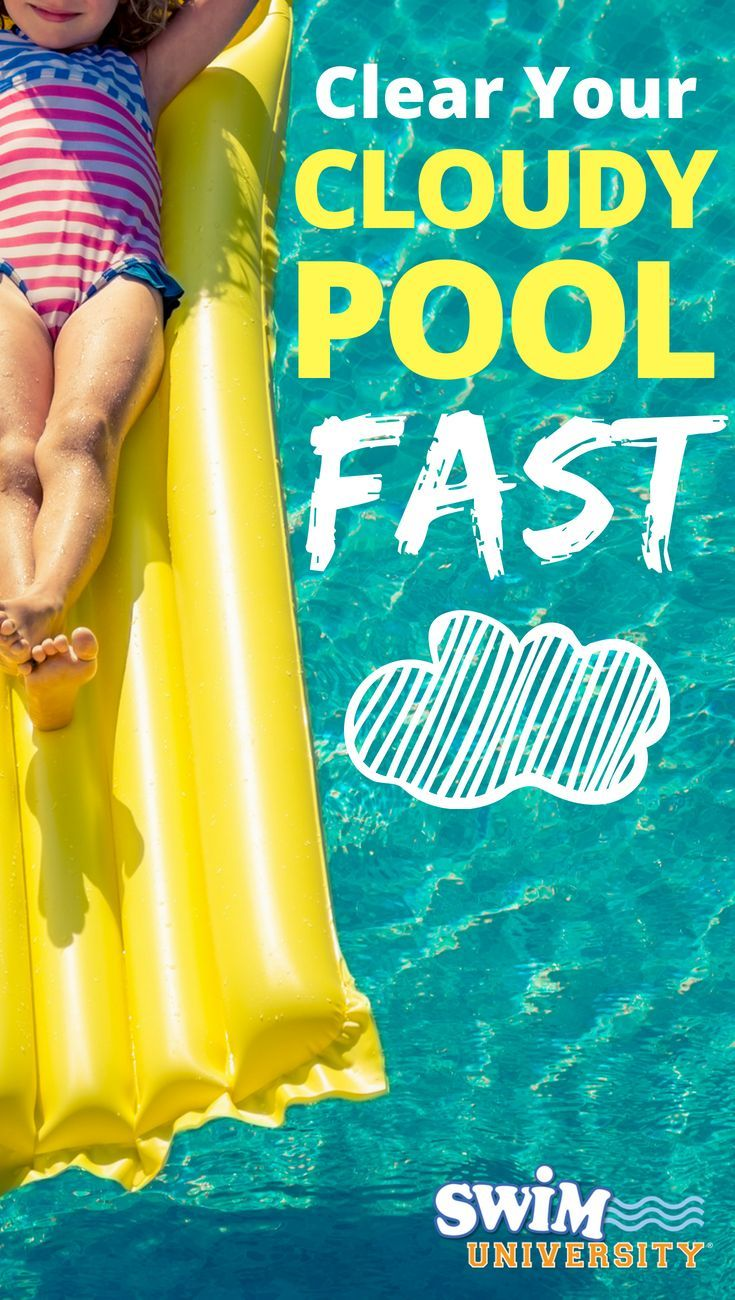 How to Fix Cloudy Pool Water   Pool Water Chemistry   Cloudy ...