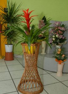 Flower Baskets And Stands - Stand
