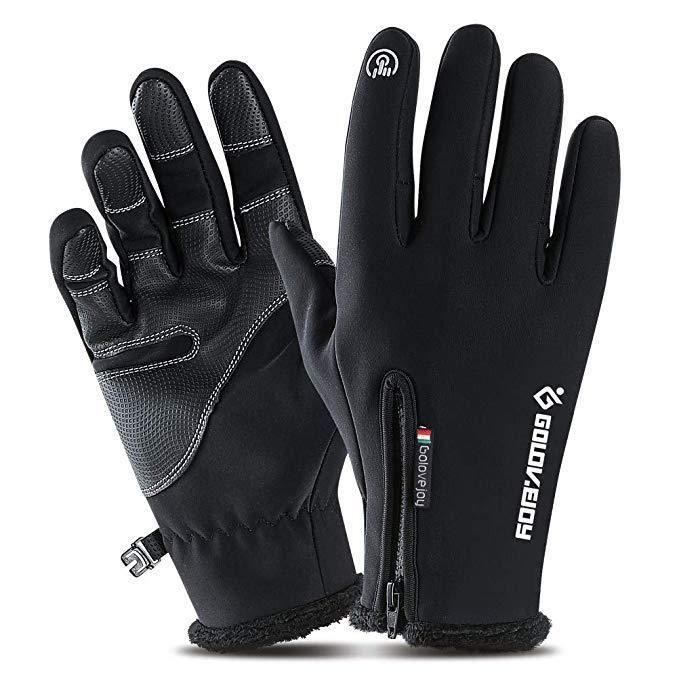 Winter Men//Women  Screen Windproof Waterproof Outdoor Sport Driving Gloves