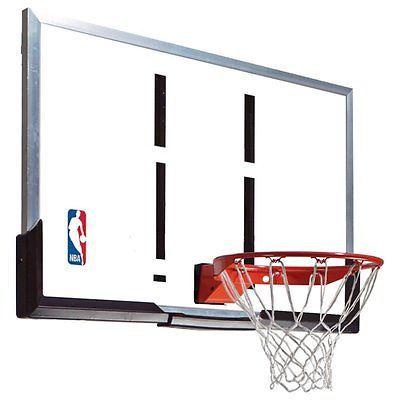 Other Basketball 2023: Spalding 54 Inch Acrylic Backboard Combo -> BUY IT NOW ONLY: $299.99 on eBay!
