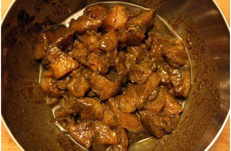 Overheerlijke Surinaamse kip / eend (Doksa) masala,bij roti, witte rijst of de borrel�€�