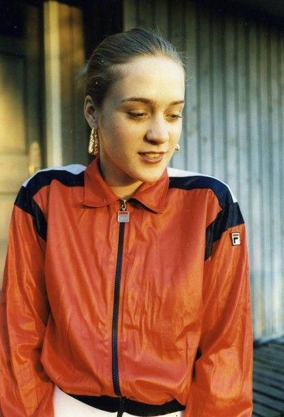 Chloë Sevigny wearing Fila, 1990s