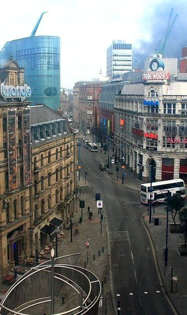 City Centre, Manchester, England, United Kingdom, 2011, photograph by Natalya Goryakina.