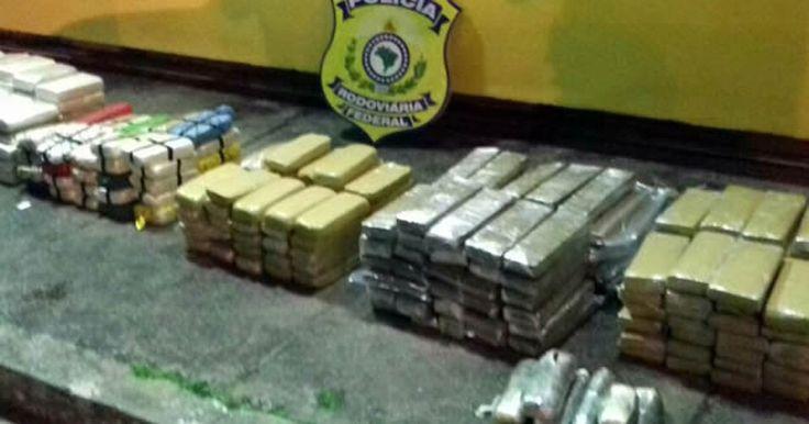 Falso policial federal é preso com 300 kg de drogas na BR-101, em Paraty