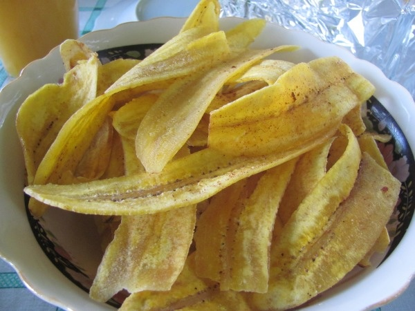 How to make fried plaintain chips...