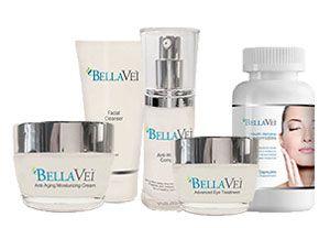 Die BellaVei Anti-Aging Creme ist eine Hautpflege Set bestehend aus 3 Cremes + Gesichtsreiniger und den Phytoceramides Kapseln zur inneren Anwendung. Es ist die neueste Antifaltenlösung aus den USA.