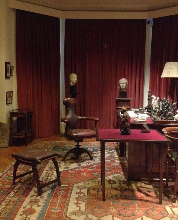 Sigmund Freud's office  ©leslie williamson