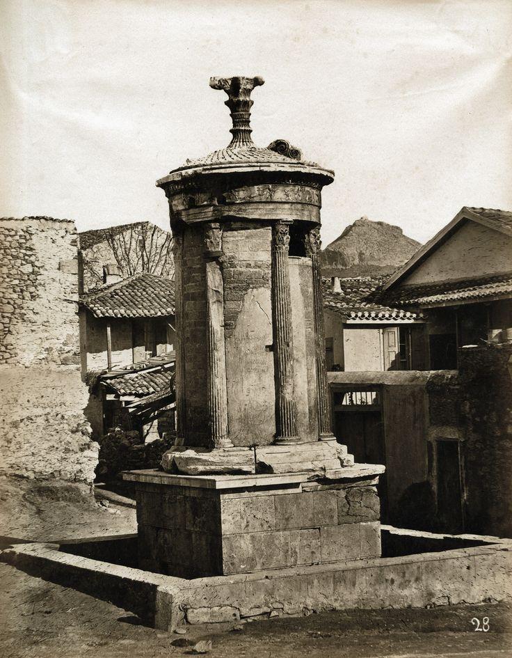 Konstantin Athanasiou - Monument of Lysicrates, Athens, 1875