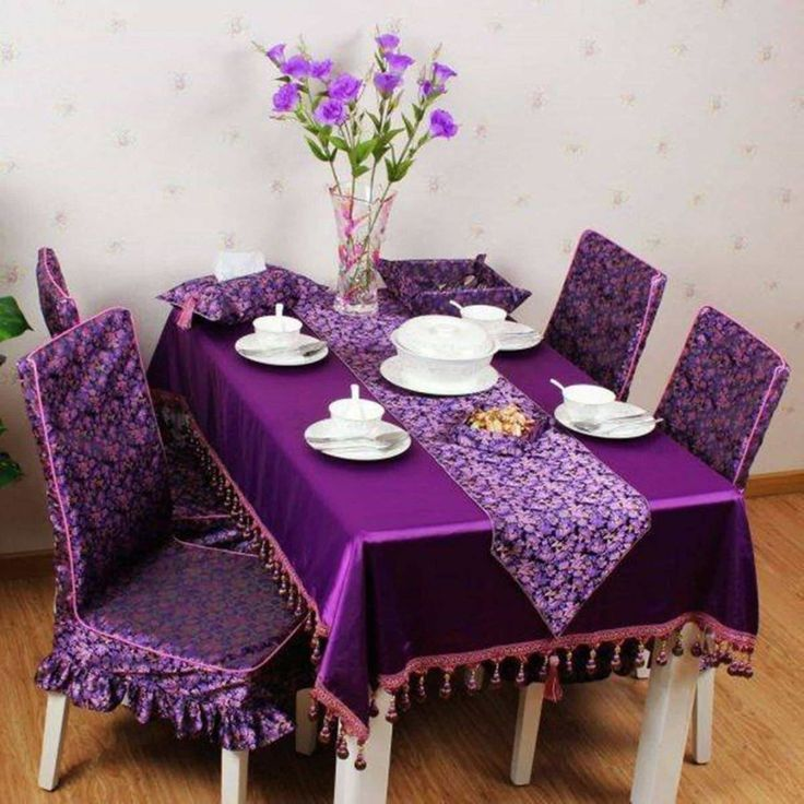 2019 Purple Dining Room Chair Covers - Modern Design Furniture Check more at http://www.ezeebreathe.com/purple-dining-room-chair-covers/