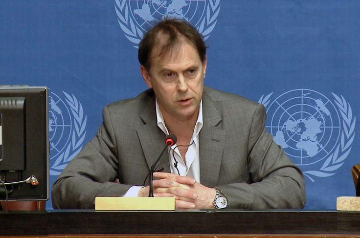 Rupert Colville, portavoz del Alto Comisionado de la ONU para los Derechos Humanos.. Foto de archivo: ONU