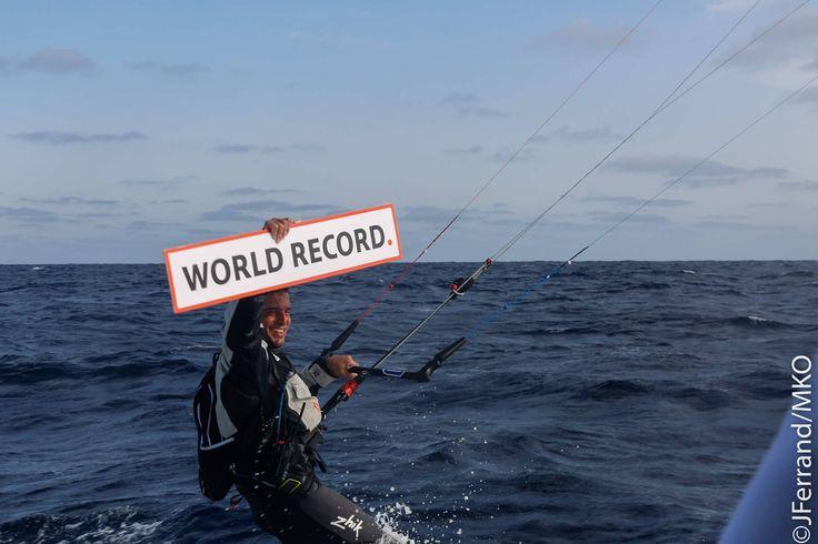 Chegada à Madeira de Francisco Lufinha! Missão cumprida de um novo Recorde do Mundo!  Numa viagem de 47h37 o Francisco conseguiu esticar o seu recorde até às 472 milhas náuticas (874km)!