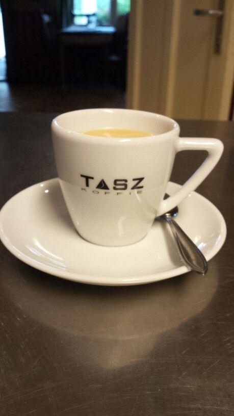 Ons eigen merk koffie;huisgebrand: TASZ koffie